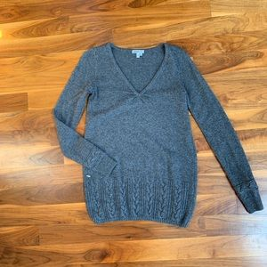 Used Lacoste wool blend sweater.